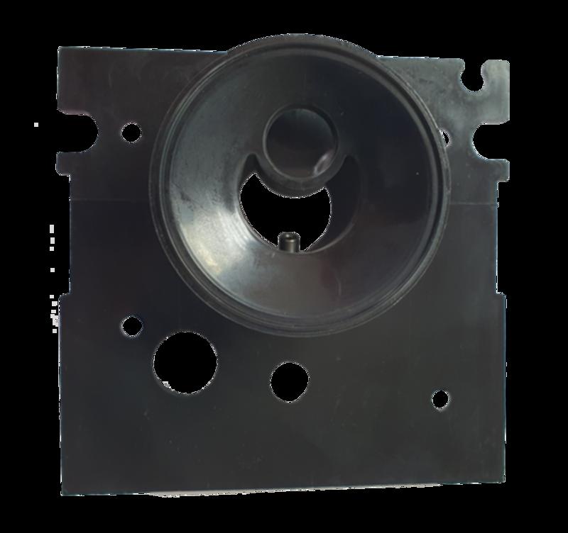 Крышка блока регулятора (гнездо пульсатора)