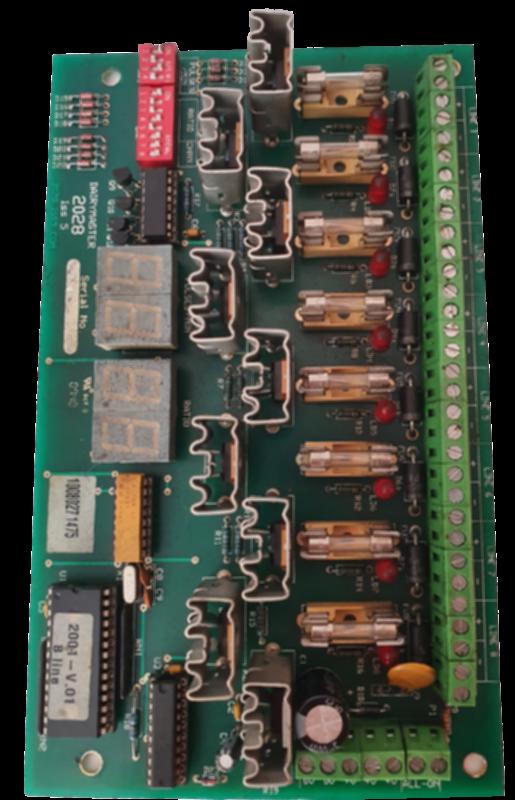 Плата контроллера пульсации (8 каналов)