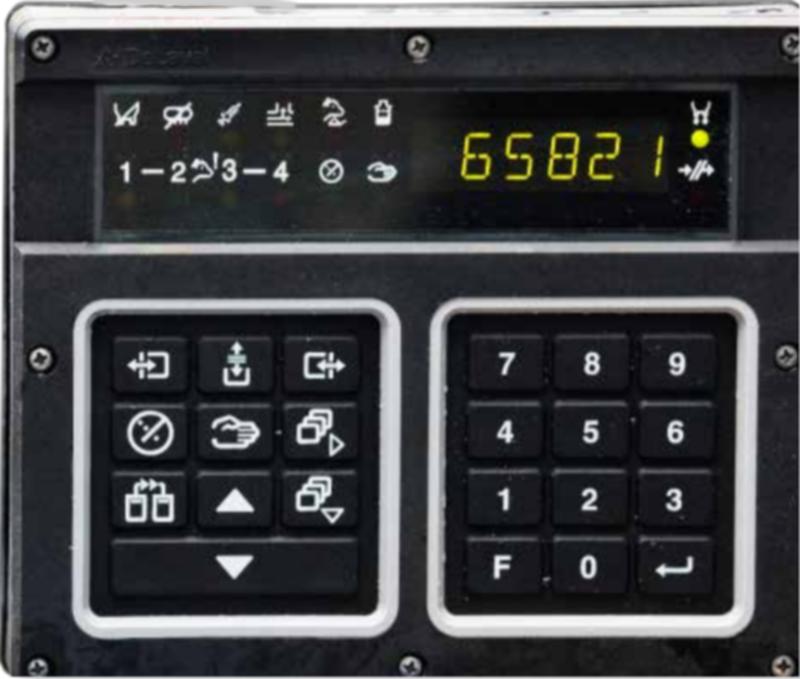 Передняя панель MPC 610