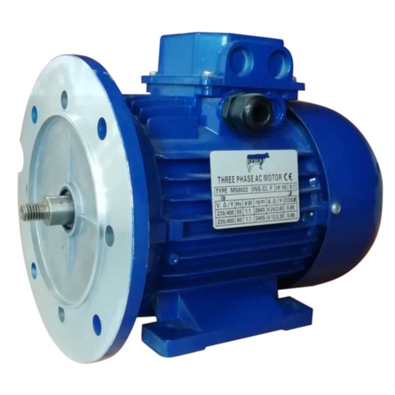 Электродвигатель центробежного молочного насоса 1,1 кВт