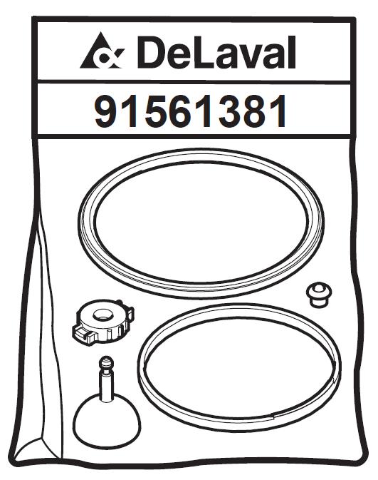 Сервисный набор коллектора МС5 4000h